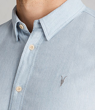Men's Millard Shirt (Light Blue) - product_image_alt_text_2