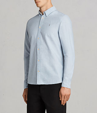 Men's Millard Shirt (Light Blue) - product_image_alt_text_3