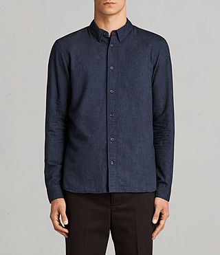 Hommes Millard Shirt (Blue) -
