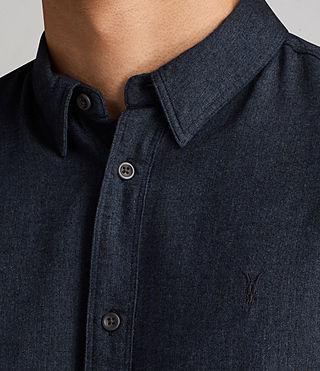 Hommes Millard Shirt (Blue) - product_image_alt_text_2