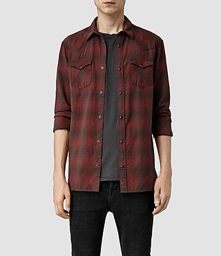 Men's Coyote Shirt (Red/Black)