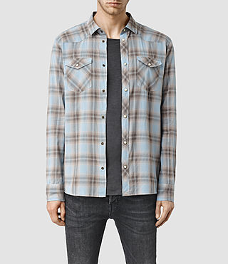 Mens Theydon Shirt (Blue)