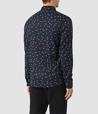 Hombre Renovo Ls Shirt (Dark Ink) - product_image_alt_text_3