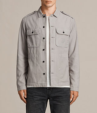 Men's Sapper Shirt (Putty Grey) - product_image_alt_text_1