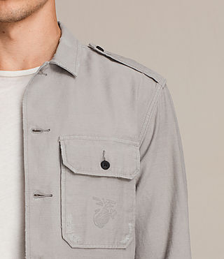Men's Sapper Shirt (Putty Grey) - product_image_alt_text_2