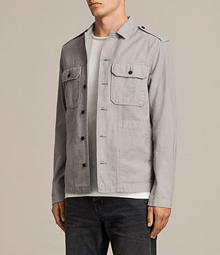 Men's Sapper Shirt (Putty Grey) - product_image_alt_text_3