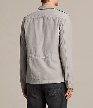 Men's Sapper Shirt (Putty Grey) - product_image_alt_text_4