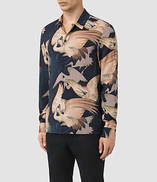 Uomo Wader Shirt (Dark Ink) - product_image_alt_text_2