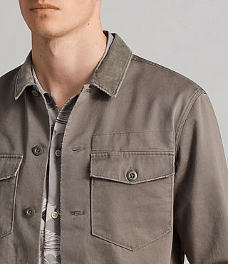 Uomo Camicia Tactical (Olive Green) - Image 2