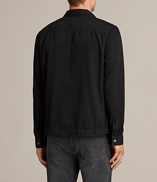 Men's Bonham Shirt (Black) - product_image_alt_text_4