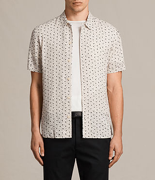 Hombre Camisa New Romantic (ECRU WHITE) - product_image_alt_text_1