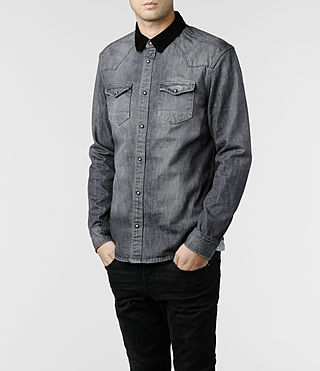 Mens Yin Shirt (Grey)