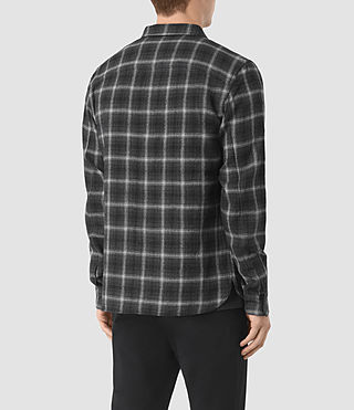 Hommes Crenshaw Ls Shirt (Black) - product_image_alt_text_3