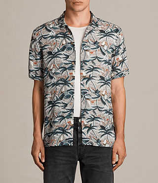 Men's Vanuatu Short Sleeve Shirt (CONCRETE GREY) - product_image_alt_text_1