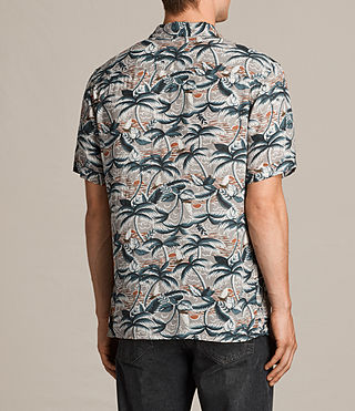 Men's Vanuatu Short Sleeve Shirt (CONCRETE GREY) - product_image_alt_text_4