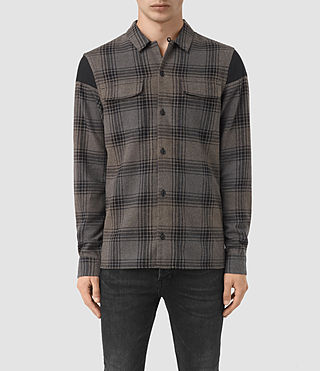 Mens Peerless Shirt (Grey)