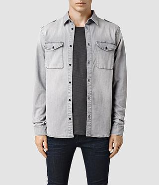 Mens Monte Shirt (Grey)