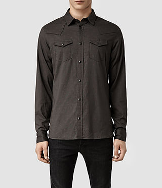 Mens Rush Shirt (Washed Black)
