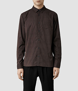 Mens Vineland Shirt (Oxblood)
