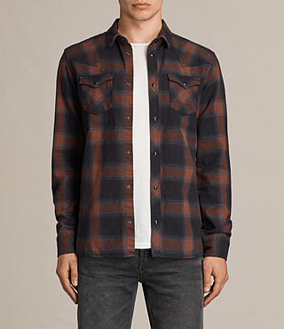 Uomo Nook Ls Shirt (Red)