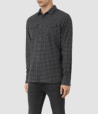 Hombre Tahoe Shirt (Grey Marl) - product_image_alt_text_2