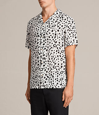 Men's Panther Short Sleeve Shirt (Chalk White) - Image 3