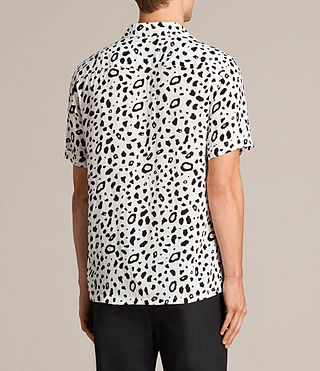 Men's Panther Short Sleeve Shirt (Chalk White) - Image 4