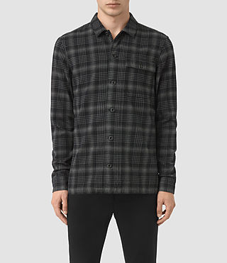 Mens Hobart Shirt (Black) - product_image_alt_text_1