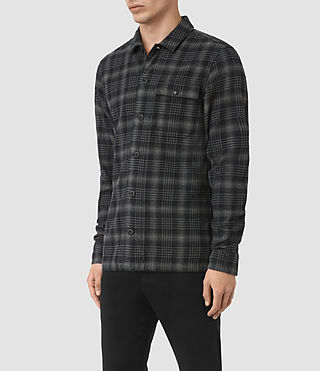 Mens Hobart Shirt (Black) - product_image_alt_text_2