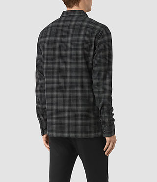Mens Hobart Shirt (Black) - product_image_alt_text_3