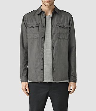 Mens Peasea Shirt (Grey)