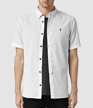 Mens Waycross Ss Shirt (Off White)