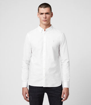 Mens Redondo Shirt (White) - product_image_alt_text_1