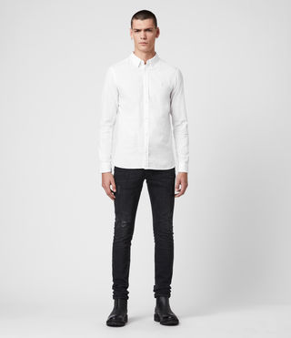 Mens Redondo Shirt (White) - product_image_alt_text_3