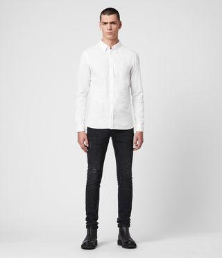 Herren Redondo Ls Shirt (White) - product_image_alt_text_3