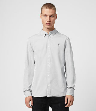 Mens Redondo Ls Shirt (Light Grey)