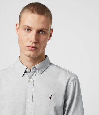 Mens Redondo Shirt (Light Grey) - product_image_alt_text_2