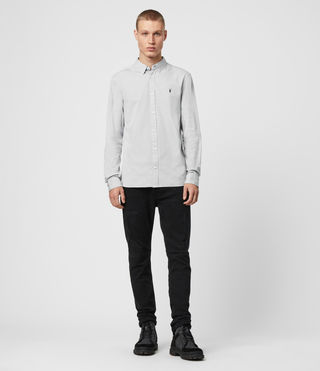 Mens Redondo Shirt (Light Grey) - product_image_alt_text_3