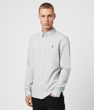 Mens Redondo Shirt (Light Grey) - product_image_alt_text_4