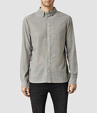 Mens Redondo Shirt (Grey Chambray)