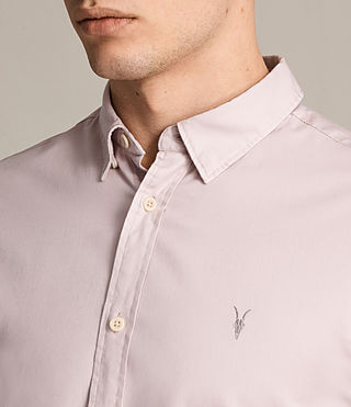 Hommes Redondo Ls Shirt (ASH PINK) - product_image_alt_text_2