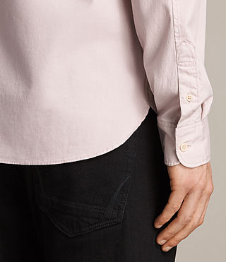 Hommes Redondo Ls Shirt (ASH PINK) - product_image_alt_text_4