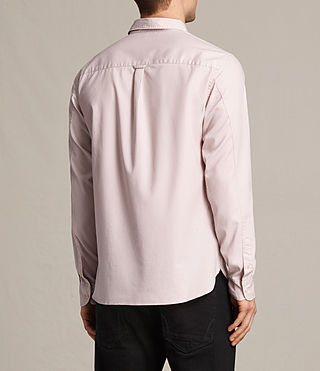 Hommes Redondo Ls Shirt (ASH PINK) - product_image_alt_text_5