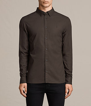 Hombre Redondo Shirt (Khaki Brown) - product_image_alt_text_1