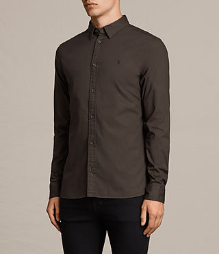 Hombre Redondo Shirt (Khaki Brown) - product_image_alt_text_4
