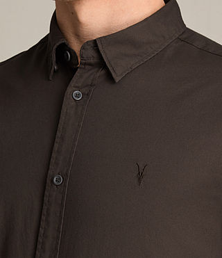 Men's Redondo Ls Shirt (CACAO) - product_image_alt_text_2