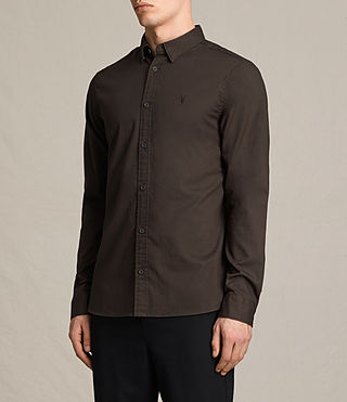 Hommes Redondo Ls Shirt (CACAO) - product_image_alt_text_3