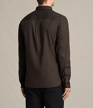 Hommes Redondo Ls Shirt (CACAO) - product_image_alt_text_4