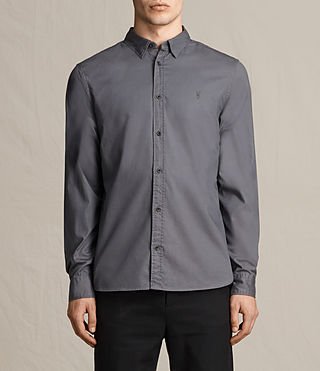 Mens Redondo Shirt (COAL GREY)
