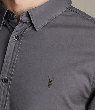 Hombre Redondo Shirt (COAL GREY) - product_image_alt_text_2